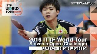 【Video】AMATO Antonino VS TONIN Ryuzaki 2016 Slovenia Open