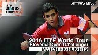 【Video】WEERASINGHE Helshan VS VILCHEZ Miguel 2016 Slovenia Open