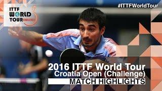 【Video】OBESLO Michal VS JEAN Gregoire, 2016 Zagreb  Open  best 32