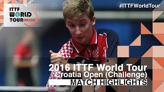 【Video】AKKUZU Can VS VIDACEK Marko 2016 Zagreb  Open