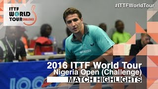【Video】ASSAR Khalid VS OLAH Benedek, 2016 Premier Lotto Nigeria Open  finals
