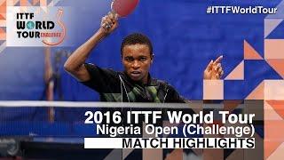 【Video】OGINI Olasunkanmi VS ANIMASAHUN Abayomi 2016 Premier Lotto Nigeria Open