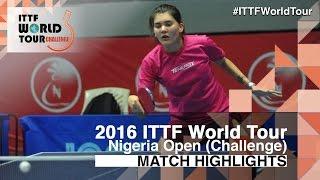 【Video】MADRID Mercedes VS GARNOVA Tatiana 2016 Premier Lotto Nigeria Open