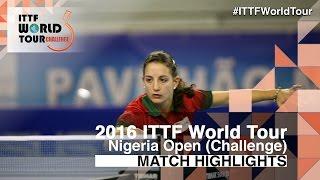 【Video】OLIVEIRA Leila VS OKU Vivian 2016 Premier Lotto Nigeria Open