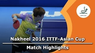 【Video】Feng Tianwei VS Tie Yana, 2016 ITTF Nakheel Asian Cup third place match