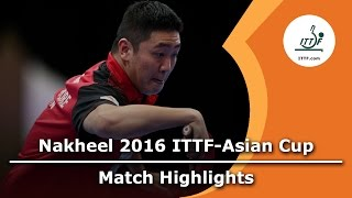 【Video】GaoNing VS XU Xin, 2016 ITTF Nakheel Asian Cup semifinal