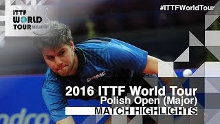 【Video】STEGER Bastian VS OVTCHAROV Dimitrij, 2016 Polish Open  semifinal