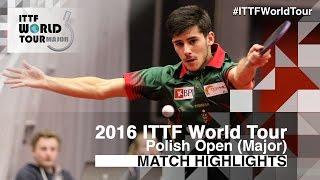 【Video】GERALDO Joao VS JUN Mizutani, 2016 Polish Open  best 16
