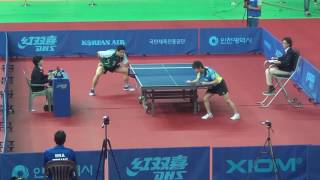 【Video】MATSUMOTO Cazuo VS NIWA Koki, 2016 Korea Open  best 32
