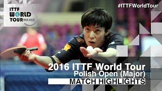 【Video】GARDOS Robert VS KENJI Matsudaira, 2016 Polish Open  best 32