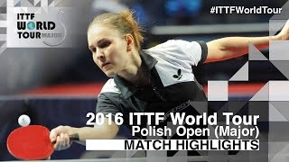 【Video】JEON Jihee VS PRIVALOVA Alexandra, 2016 Polish Open  best 32
