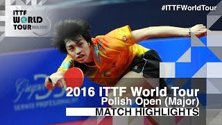 【Video】KENTA Tazoe VS KOHEI Sambe, 2016 Polish Open  quarter finals