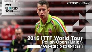 【Video】KOSIBA Daniel VS AKKUZU Can, 2016 Polish Open  best 16