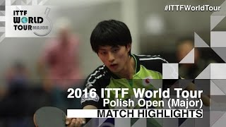 【Video】SZYMANSKI Filip VS KOHEI Sambe 2016 Polish Open