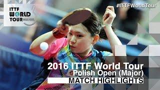 【Video】ZHU Chengzhu VS  Amanoyu 2016 Polish Open