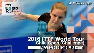 【Video】MORET Rachel VS LORENZOTTI Maria, 2016 Chile Open  finals