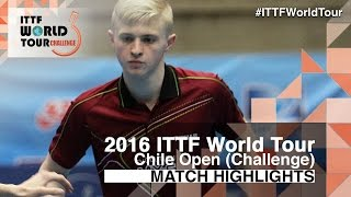 【Video】RUIZ Romain VS ALTO Gaston, 2016 Chile Open  semifinal