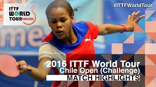 【Video】MORET Rachel VS LOVET Idalys, 2016 Chile Open  semifinal