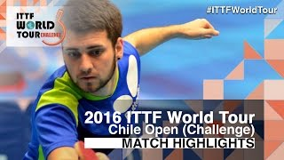 【Video】SCHREINER Florian VS LAMADRID Juan, 2016 Chile Open  finals