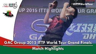 【Video】MA Long VS FAN Zhendong, 2015 Grand Finals finals
