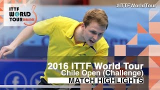 【Video】DUDA Benedikt VS LAMADRID Juan, 2016 Chile Open  best 16