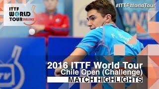 【Video】LAMADRID Juan VS SANCHI Francisco 2016 Chile Open