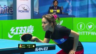 【Video】SILVA Yadira VS RUANO Lady, 2016 ITTF-Latin America Olympic Qualification Tournament semifinal