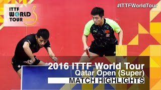 【Video】FAN Zhendong・ZHANG Jike VS KOKI Niwa・MAHARU Yoshimura, 2016 Qatar Open  finals