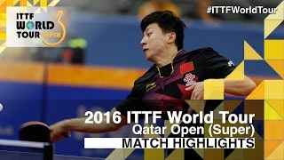 【Video】WONG Chun Ting VS MA Long, 2016 Qatar Open  quarter finals