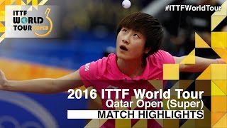 【Video】HAN Ying VS DING Ning, 2016 Qatar Open  quarter finals