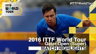 【Video】SHIBAEV Alexander VS SAMSONOV Vladimir, 2016 Qatar Open  best 16