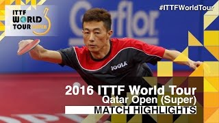 【Video】LI Ping VS XU Xin, 2016 Qatar Open  best 16