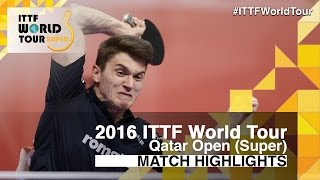 【Video】GERELL Par VS SZOCS Hunor, 2016 Qatar Open  best 64
