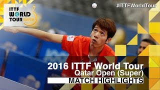 【Video】SUN Chia-Hung VS HO Kwan Kit, 2016 Qatar Open  best 64