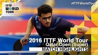 【Video】OLAH Benedek VS AL-NAGGAR Abdulrahman, 2016 Qatar Open  best 128