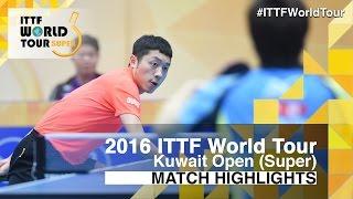 【Video】JUN Mizutani VS XU Xin, 2016 Kuwait Open  quarter finals