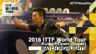【Video】LI Ping VS SALEH Ahmed, 2016 Kuwait Open  best 32
