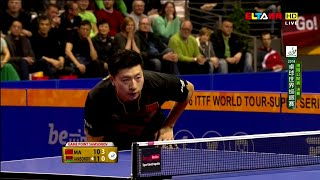 【Video】MA Long VS SAMSONOV Vladimir, 2016 German Open  finals