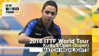 【Video】KARAKASEVIC Aleksandar VS ALRASHIDI Marzooq, 2016 Kuwait Open  best 64