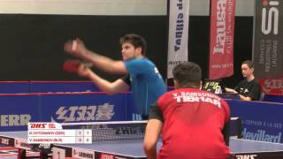 【Video】OVTCHAROV Dimitrij VS SAMSONOV Vladimir, 2016 Swiss Open finals