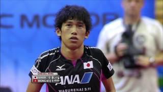 【Video】WONG Chun Ting VS YOSHIMURA Maharu, 2015  Czech Open  finals