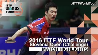【Video】MIZUTANI Jun VS JOO Saehyuk, 2016 Slovenia Open  semifinal