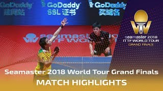 【Video】CALDERANO Hugo VS TOMOKAZU Harimoto, 2018 World Tour Grand Finals semifinal