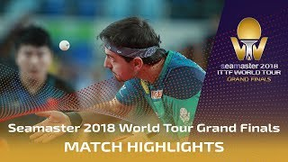 【Video】BOLL Timo VS LIANG Jingkun, 2018 World Tour Grand Finals best 16