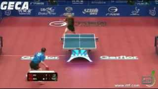 【Video】Ma Lin VS XU Xin, 2012 Grand Finals semifinal