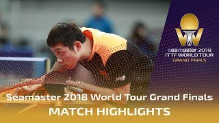 【Video】XU Xin VS WONG Chun Ting, 2018 World Tour Grand Finals best 16