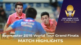 【Video】HO Kwan Kit・WONG Chun Ting VS MASATAKA Morizono・YUYA Oshima, 2018 World Tour Grand Finals semifinal