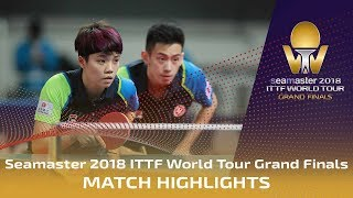 【Video】WONG Chun Ting・DOO Hoi Kem VS CHEN Chien-An・CHENG I-Ching, 2018 World Tour Grand Finals quarter finals