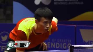 【Video】XU Haidong VS YUKIYA Uda, 2018 World Junior Table Tennis Championships finals