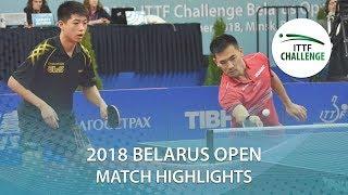 【Video】KOU Lei・WEI Shihao VS SONE Kakeru・YUTA Tanaka, 2018 Challenge Belarus Open finals